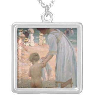 The Bathing Hour Silver Plated Necklace