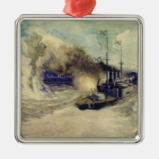 The battle between the Black Sea Fleet and Christmas Ornament
