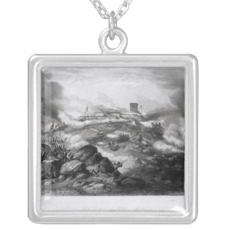 The Battle of Chapultepec Silver Plated Necklace