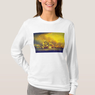 The Battle of the Saintes by Thomas Mitchell 1782 T-Shirt