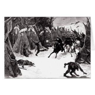 The Battle of the Washita Card
