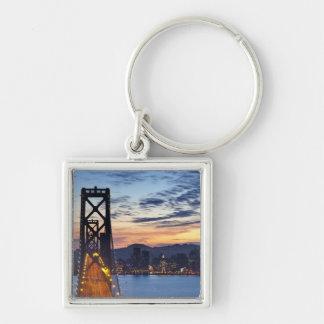 The Bay Bridge from Treasure Island Key Chains