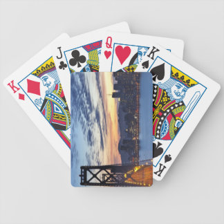 The Bay Bridge from Treasure Island Playing Cards