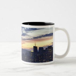 The Bay Bridge from Treasure Island Two-Tone Coffee Mug