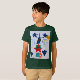 """The """"Be a Desert Star"""" boys T Shirt by Luka Myers"""
