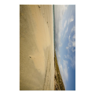 The Beach At Luskentyre Flyer