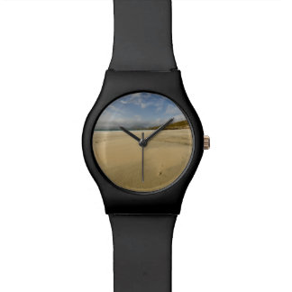 The Beach at Luskentyre Wrist Watches