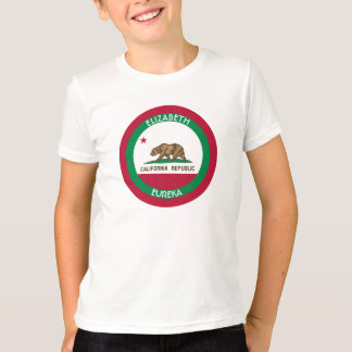 The Bear California Personalized Flag T-Shirt