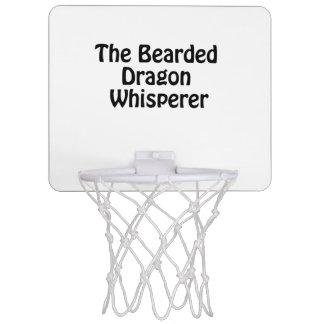 the bearded dragon whisperer mini basketball hoop