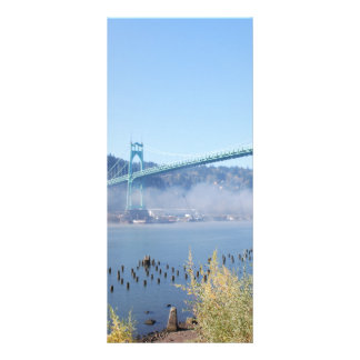 The Beautiful St. Johns Bridge Rack Card Design