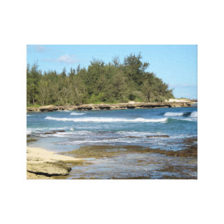 The Beautiful Turtle Bay in Oahu Hawaii Canvas Print