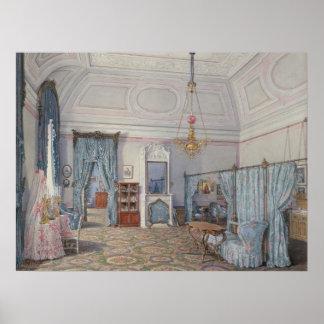 The Bedroom of Grand Princess Maria Alexandrovna Poster