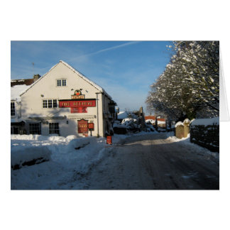 The Beehive Pub, Harthill with Woodall. Greeting Card
