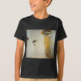 The Beethoven Frieze: The Longing for Happiness T-Shirt