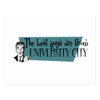 The best guys are from University City Postcard