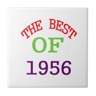 The Best OF 1956 Small Square Tile