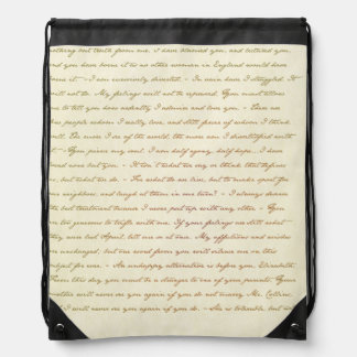 The Best Quotes from Jane Austen Drawstring Bag