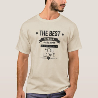 The best smell shirt for men