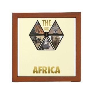 The Big 5 Africa Desk Organizer