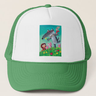 The Big Bad Wolf Trucker Hat