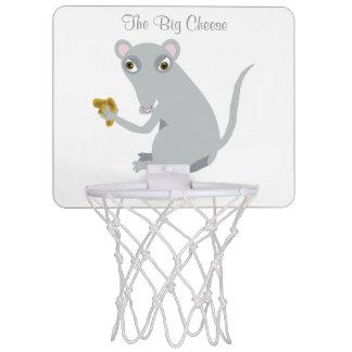 The Big Cheese Mini Basketball Hoop