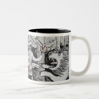 The Big Jungle Adventure Two-Tone Coffee Mug
