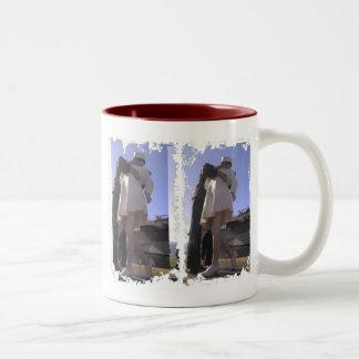 The Big Kiss San Diego Dirty 3 Box Ringer Mug