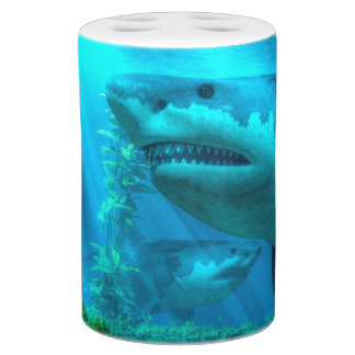 The Biggest Shark Bathroom Set