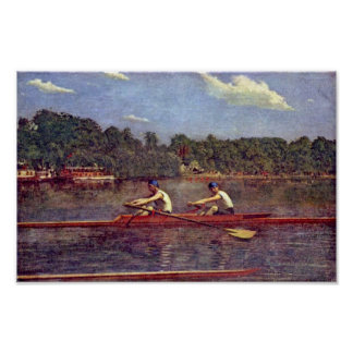 The Biglen Brothers Racing by Thomas Eakins Posters