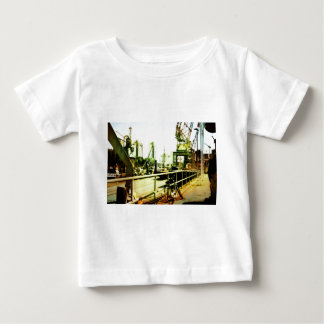 The bike, the crane and the museum baby T-Shirt