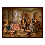 """""""The Birth Of Old Glory"""" Posters"""