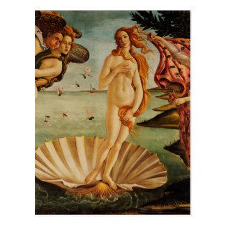 The Birth of Venus by Sandro Botticelli Postcard