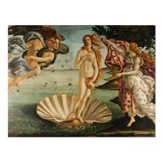 The Birth of Venus Postcard