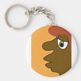 the black dude key ring