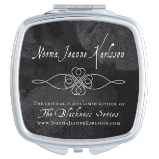 The Blackness Series Compact Mirror