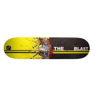 The Blast Custom Skate Board