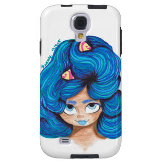The Blue Haired Pisces Galaxy S4 Case