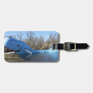 The Blue Whale of Catoosa Luggage Tag