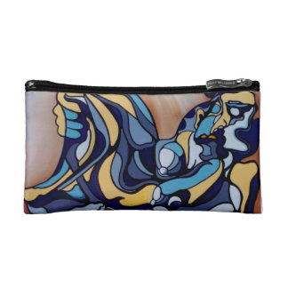 THE BLUES BY ALBERT RIDDLE MAKEUP BAG