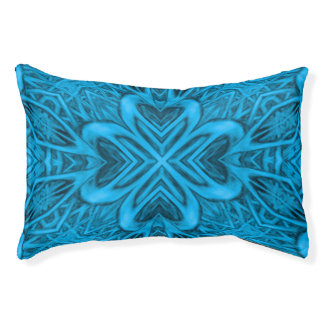 The Blues Kaleidoscope Indoor Or Outdoor Dog Bed