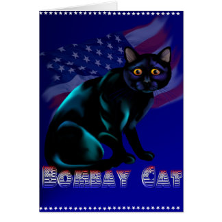 The Bombay Cat Card