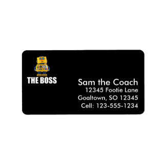 The Boss Label