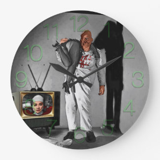 The Brain That Wouldn't Die Large Clock