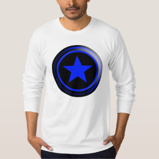 THE BRAND Blue Star T-Shirt