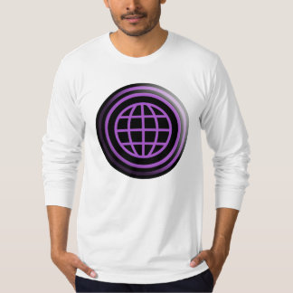 THE BRAND Purple World T-Shirt