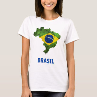 The Brasil Flag T-Shirt (ladies)