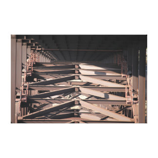 The Bridge Stretched Canvas Print