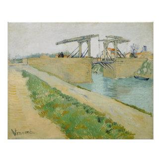 The Bridge of Langlois by Vincent Van Gogh Photo Print