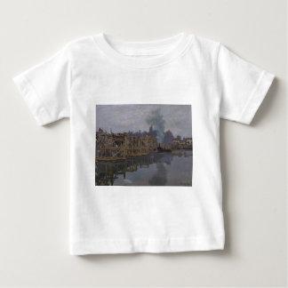 The Bridge under Repair by Claude Monet Baby T-Shirt