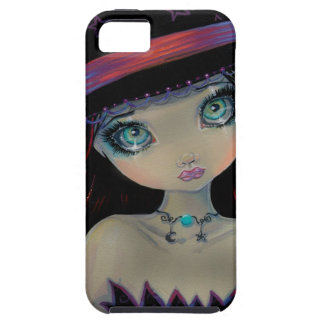 The Bright Eyed Witch Gothic Cute Big Eye Art iPhone 5 Case
